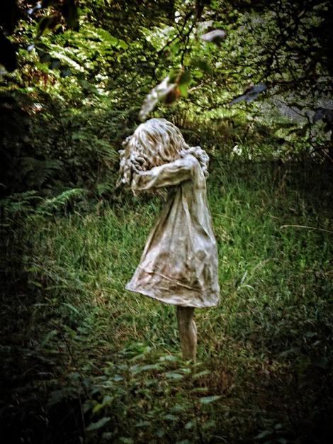 Weeping Girl by Grey Malkin